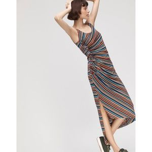 Anthropologie striped Luca maxi dress